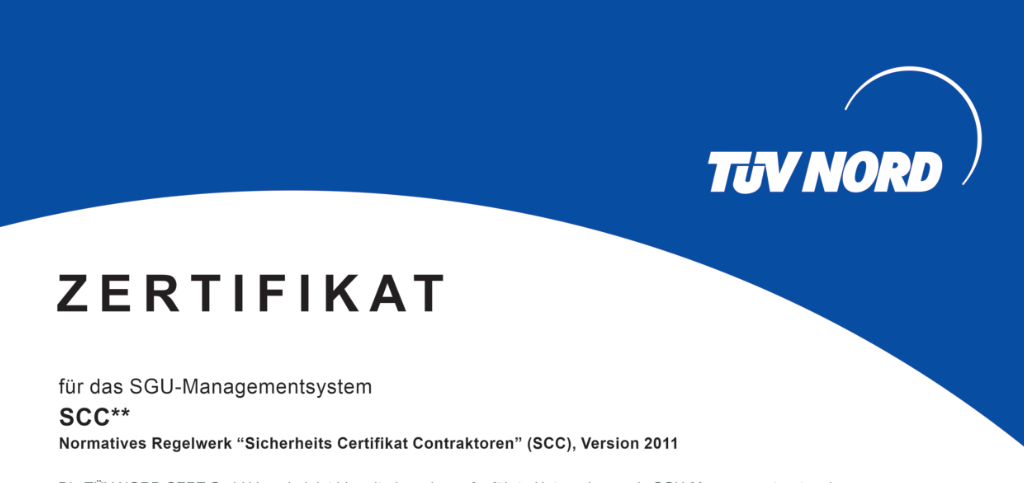 German – Preview certificate