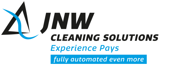 Logo JNW Cleaning Solutions Experience Pays – Fully automated even more